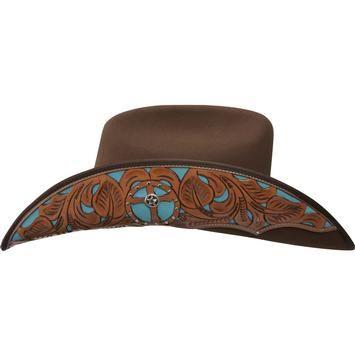 Small, Chocolate Montecarlo Bullhide CHILDS Hats HORSING AROUND Wool Western Cowboy Hat
