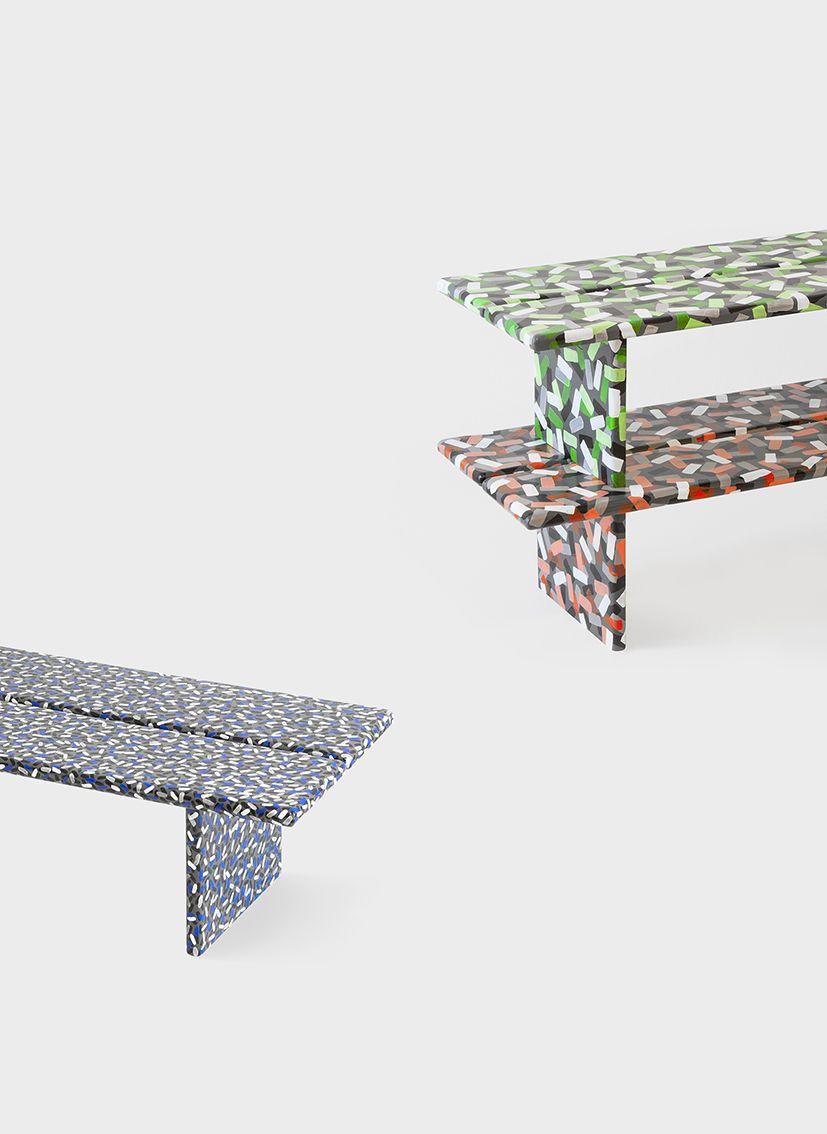 "FERRÉOL BABIN - ""Floncon"" shelves.  Handmade pieces for the exhibition Another Perspective at Ventura Lambrate during the Milan Design Week. Via Ventura 15 8 - 13 April 2014"