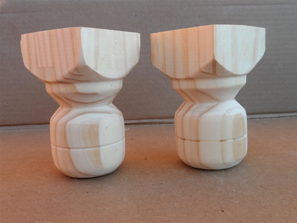 Patas para muebles patas y patitas de madera para home home by carolina pinterest - Patas para muebles de madera ...