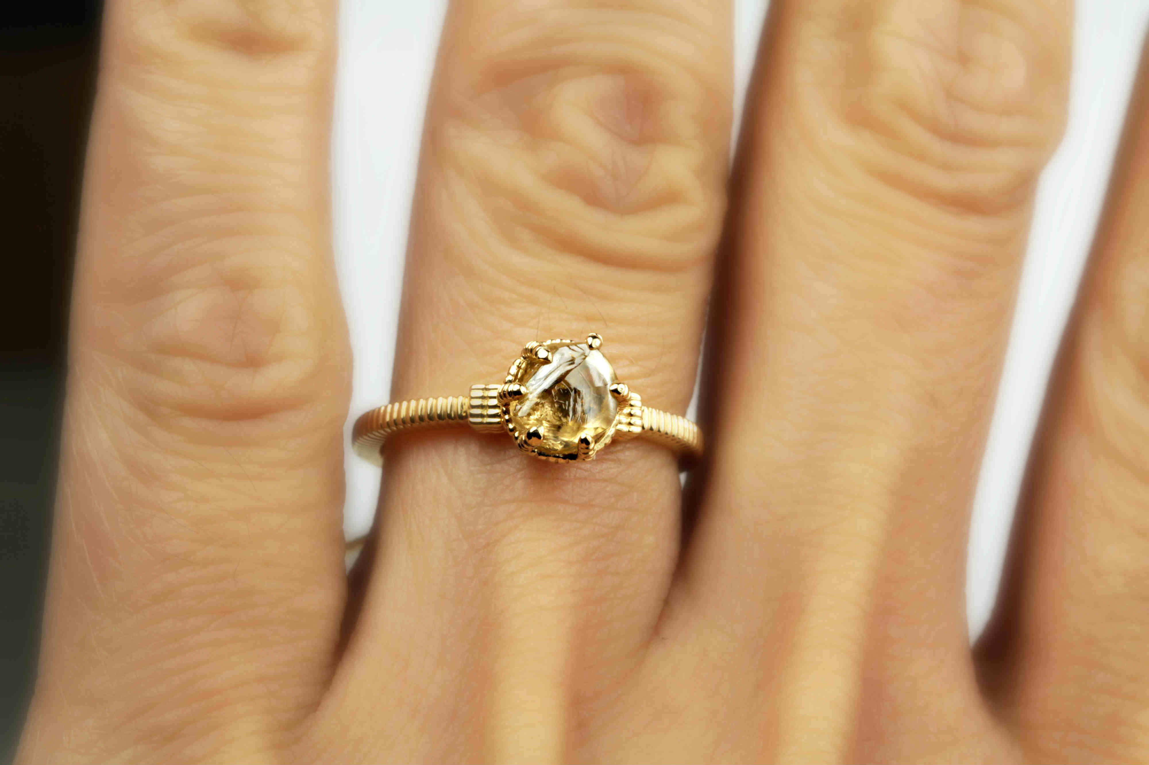 Unique Engagement Rings, Wedding Rings and Fine Jewelry | Unique engagement  rings, Rough engagement ring, Engagement rings
