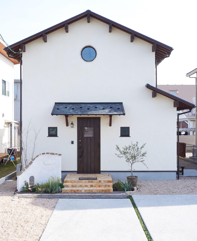 アンティークな外観のお家 島根県で注文住宅を建てるタケシバ建設の