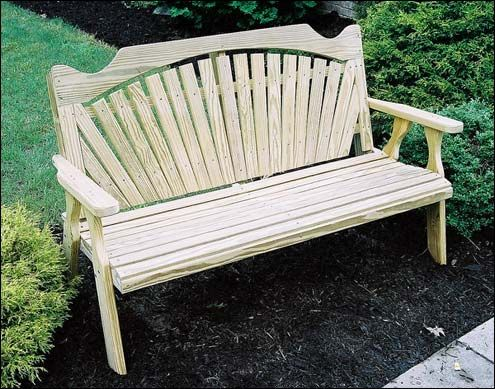 Wooden Garden Benches | Outdoor Benches - Fifthroom | Gardening ...