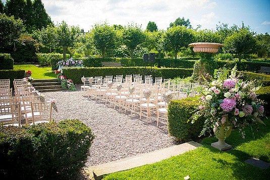 Wedding Outdoor Summer Larchfield Estate Laura Mark Northern Ireland