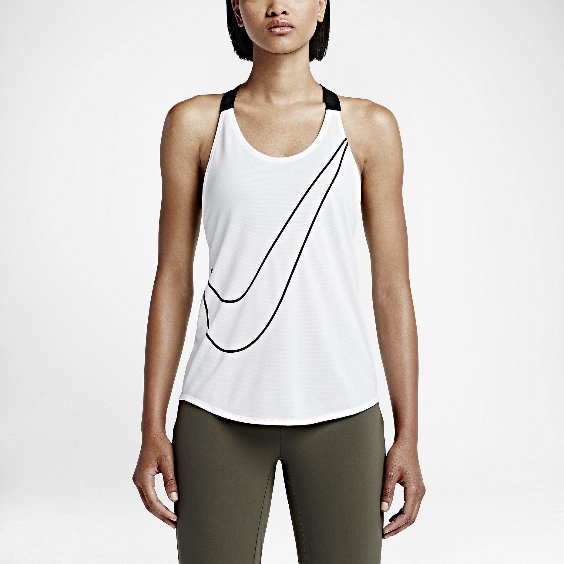 NWT Nike Elastika Tank Top New with tags! Flowy cut and large armholes  deliver maximum mobility during workout. Dri-FIT fabric helps keep you  comfortably ...