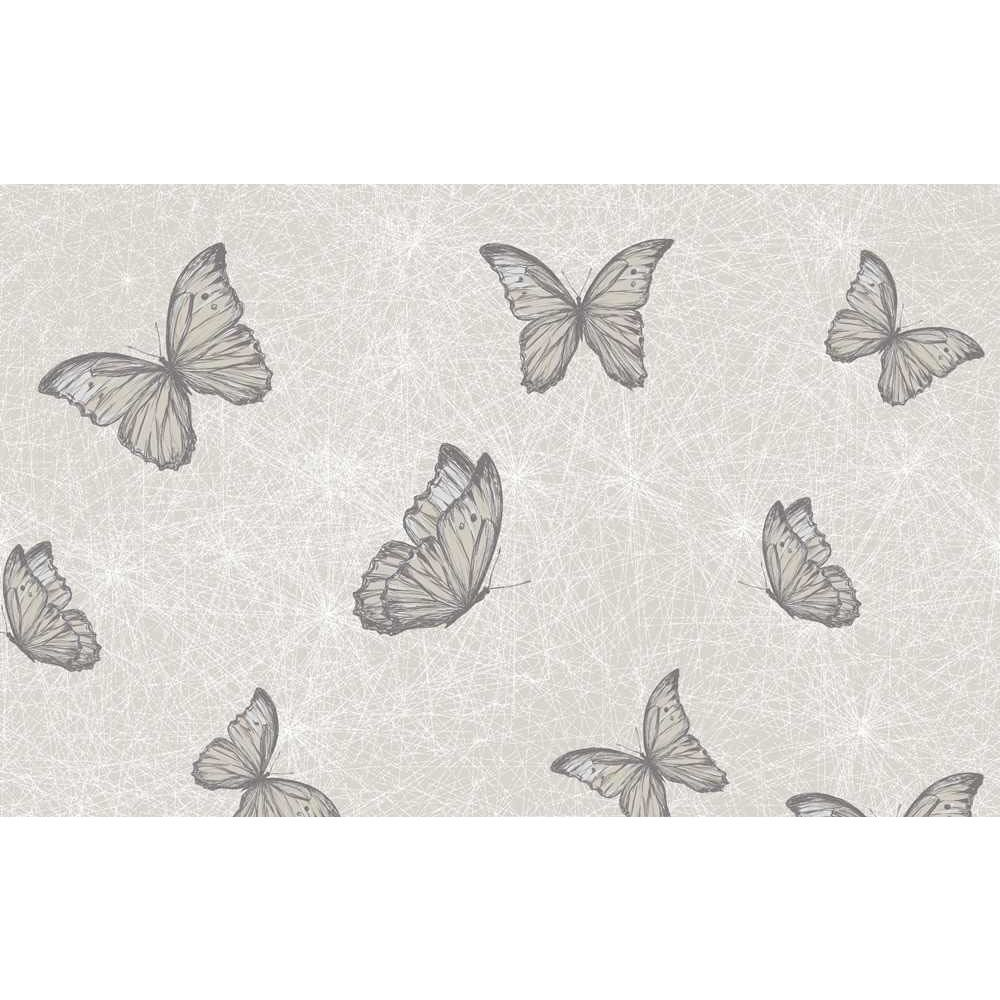 Wall stickers wilko - Wilko Butterfly Pink Wallpaper At Wilko Com