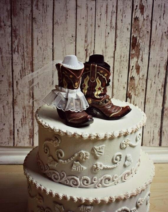 Country themed cake. Funfetti on the inside. Rustic look