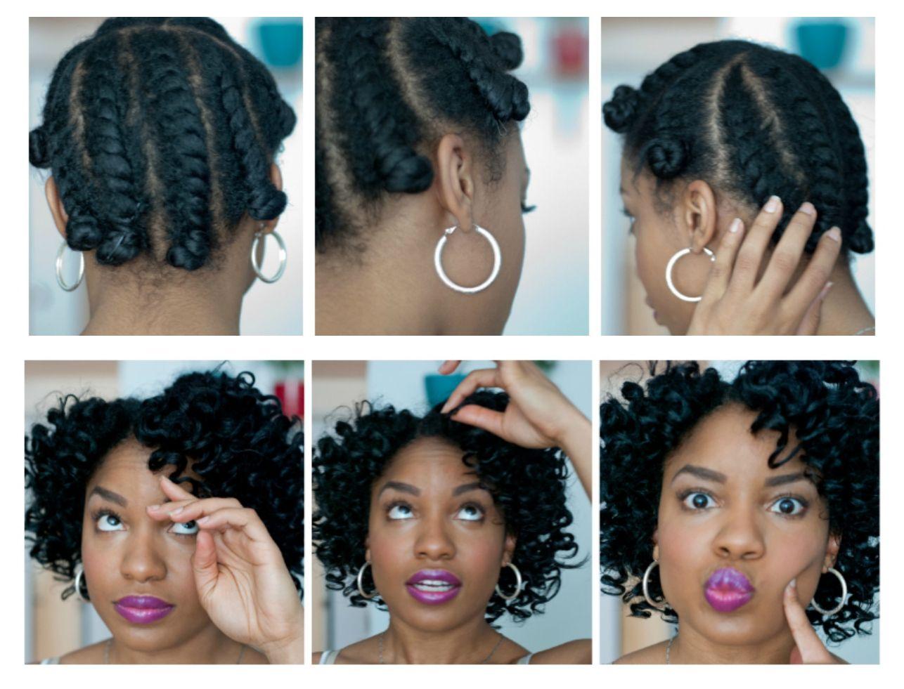 best bantu knot out alternative - video