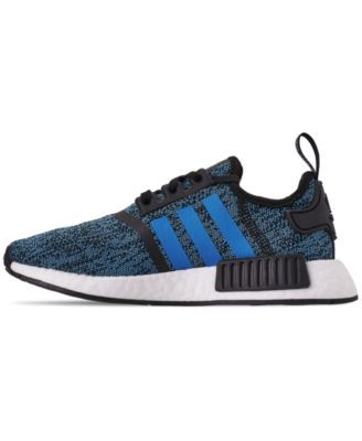 online store 7ba05 4966e adidas Boys  Nmd Casual Sneakers from Finish Line - Black 6.5