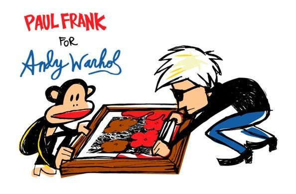Paul Frank for Andy Warhol