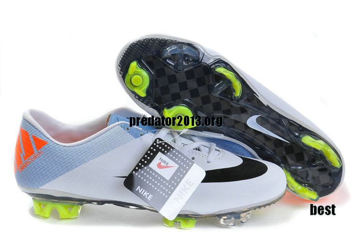 84ebfeeba Nike Mercurial 2012 Superfly III FG Cristiano Ronaldo 2012 Soccer Cleats  White Black Orange $54.69