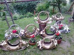 Kwietnik Doniczka Z Opon Garden Home Decor Christmas