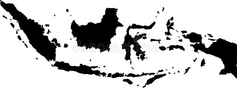 Vector Map Of Indonesia Black Vector Map Of Indonesia Sponsored Map Vector Indonesia Vector Black Ad Map Vector Vector Map