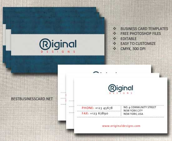 22 free business card templates in psd format projets essayer 22 free business card templates in psd format accmission