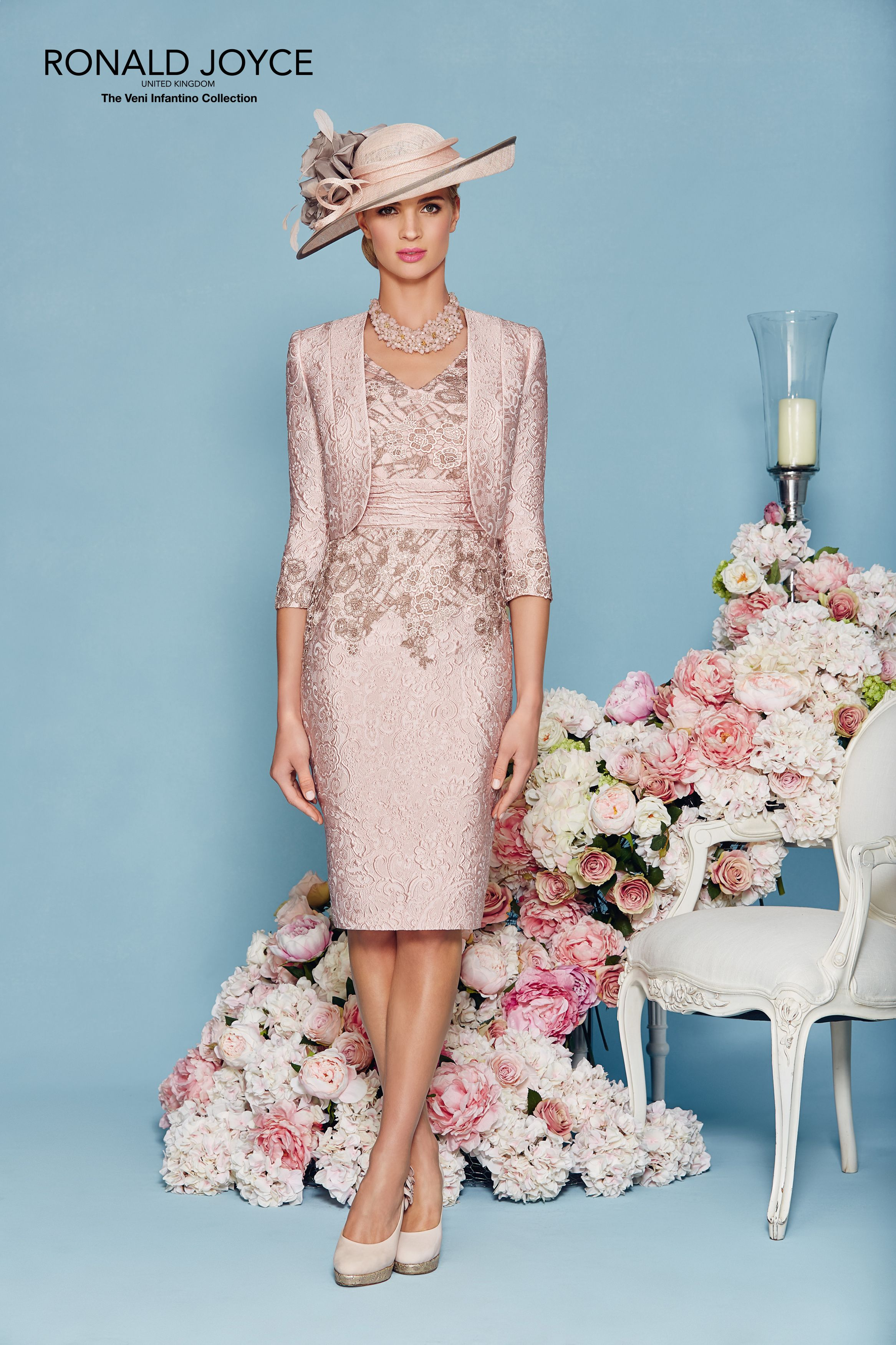 Ronald Joyce, Style 991124, colour Blush/Taupe. | لباس مجلسى ...