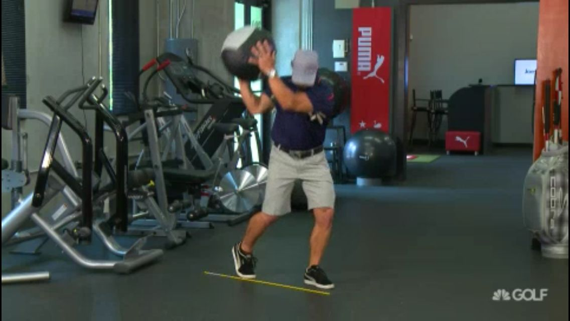 Golf Fitness Dynamic Explosive Exercise Joeyd Tpi Golf Exercises Explosive Workouts Exercise