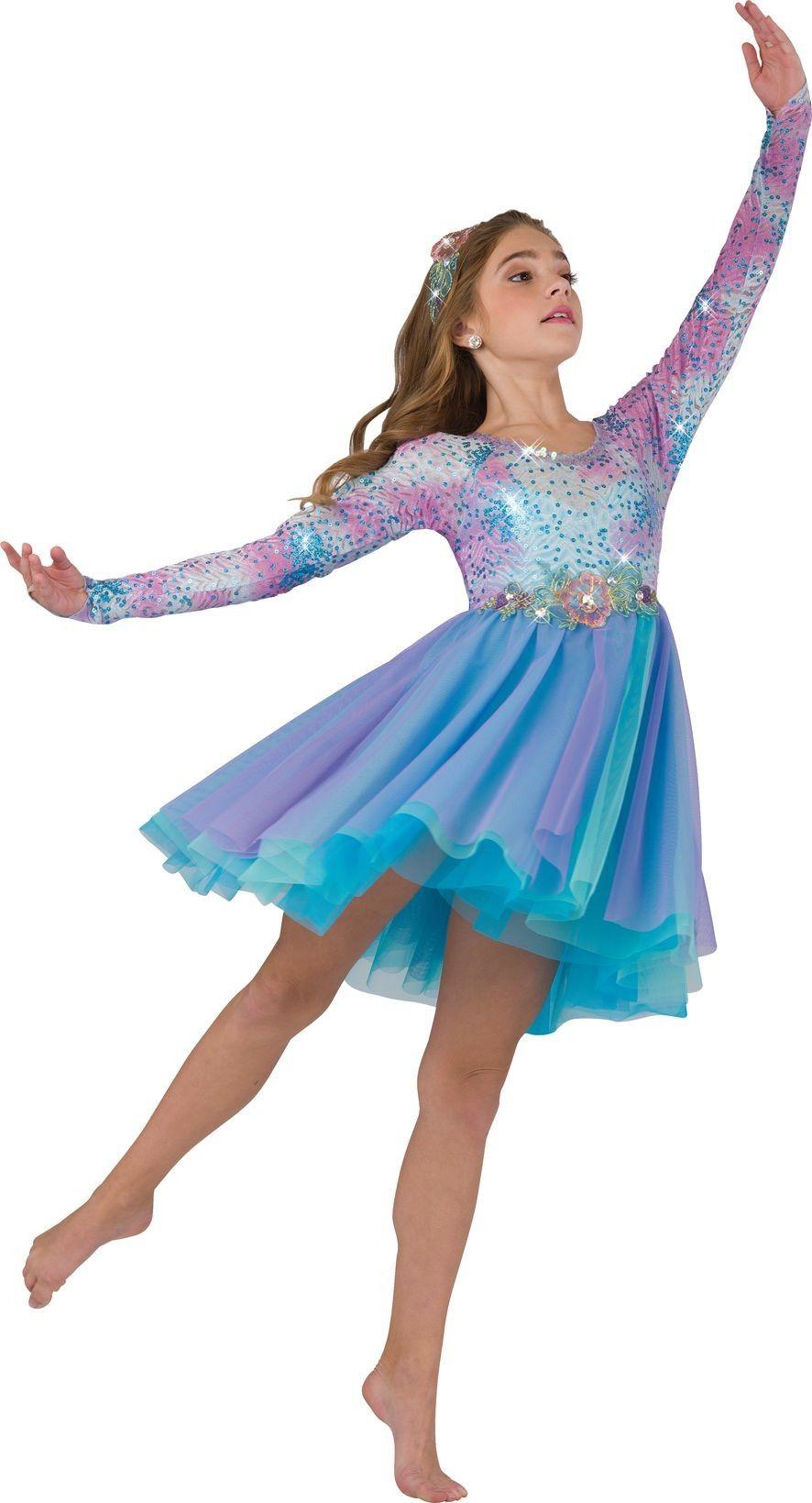 36dca73526c Fantasia Infantil Bailarina Meninas Azul e Lilás Dança Carnaval ...