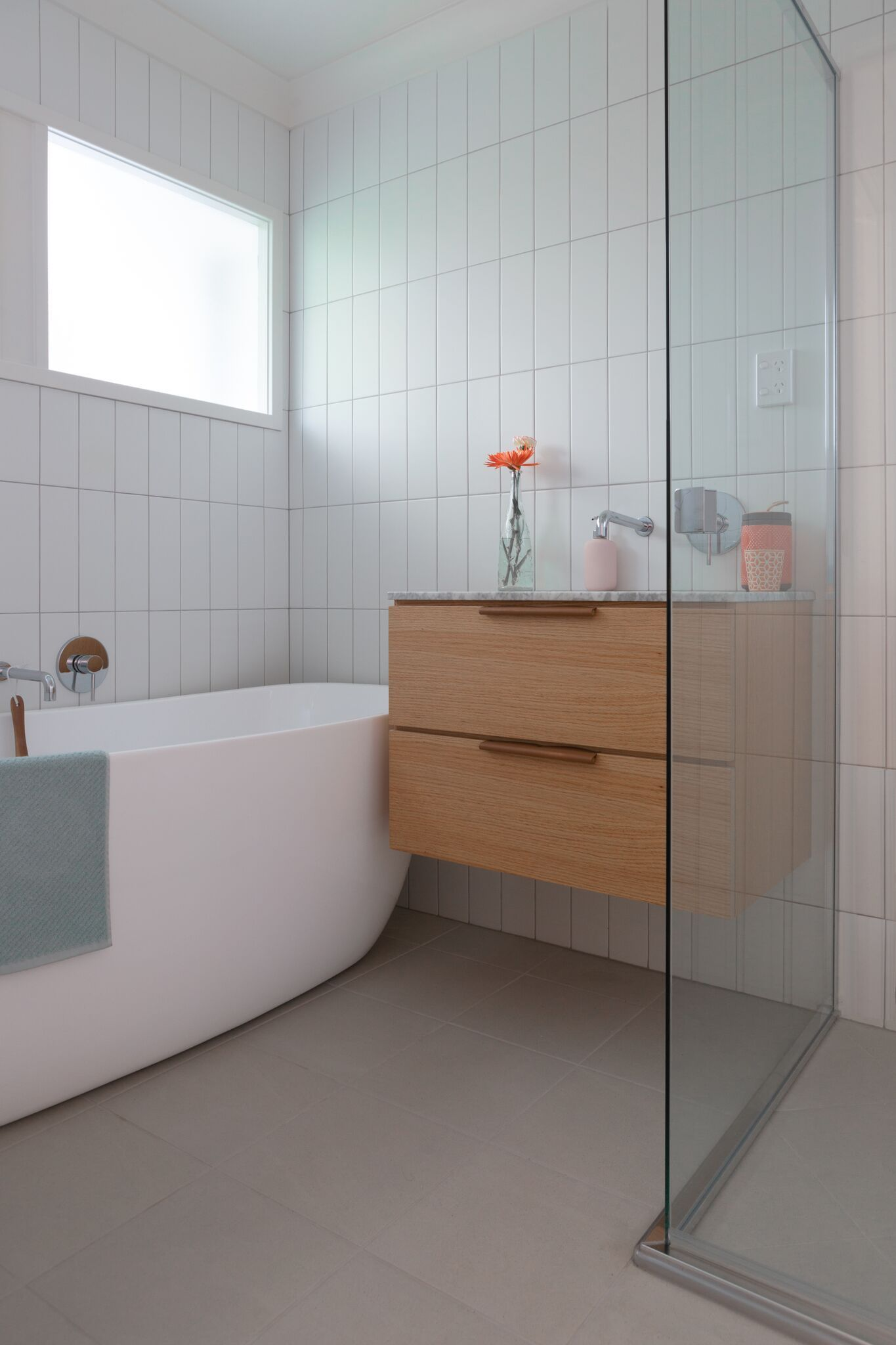 Modern And Contemporary Bathroom Featuring The Wilson 36 Inch