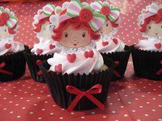 Babete Cupcakes - Florianópolis - Curitiba: Festa da Moranguinho