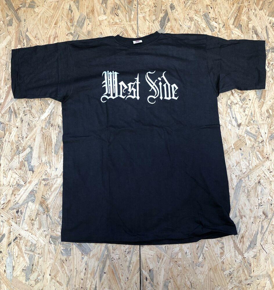 Vintage West Side Tshirt Single Stitch 90s Westside Hip Hop Bootleg