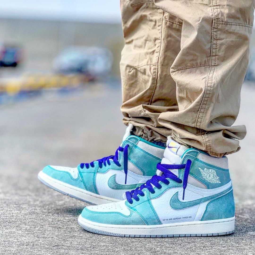 Jordan 1 Retro High Turbo Green In 2020 With Images
