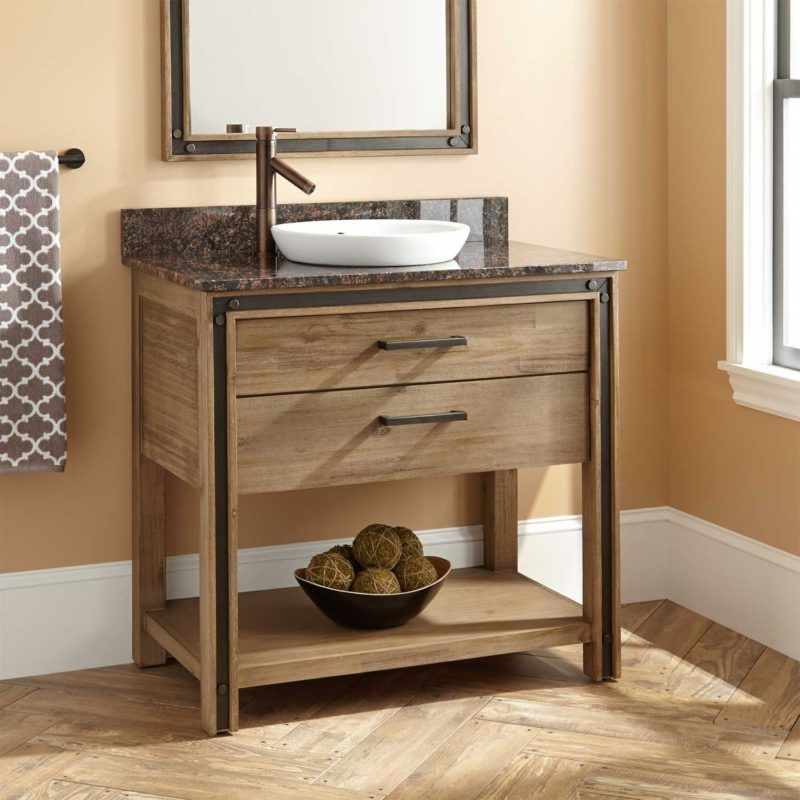 40 Rustic Bathroom Vanities Ideas Get Inspired With Perfect