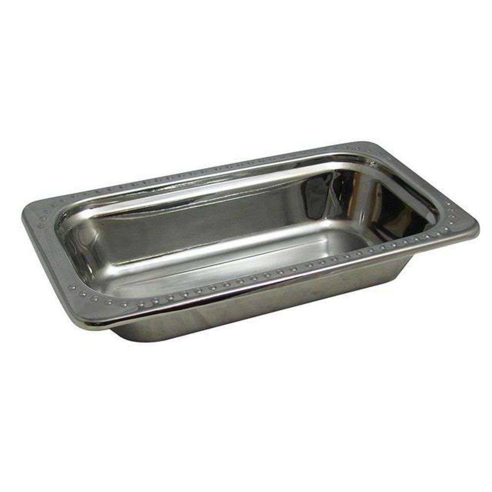 1 Qt 13 1 16 X 6 15 16 X 2 1 2 Inch Stainless Steel Pan Bolero Design Case Of 3 Stainless Steel Pans Stainless Steel Food Storage