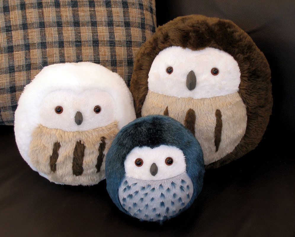 These Owls Look Super Cute The Artist Has The Pattern Available For