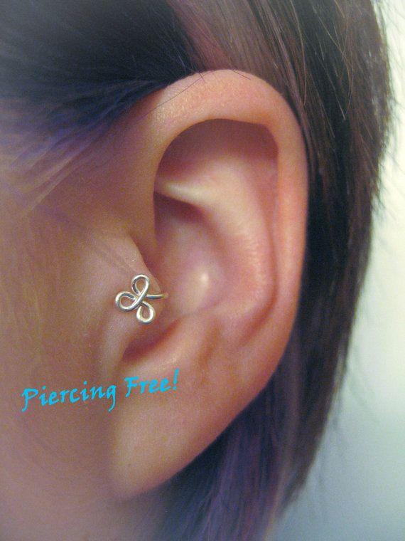 The New Fleur Leftear Tragus Cuff Grippy Luvvvv Jewellery Ear