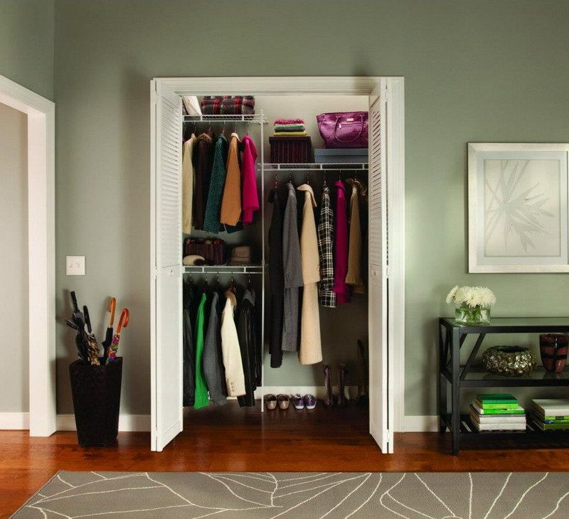 Ordinaire Representation Of Easy Closet Organization Ideas That Ease You In Organizing  The Messy Stuffs