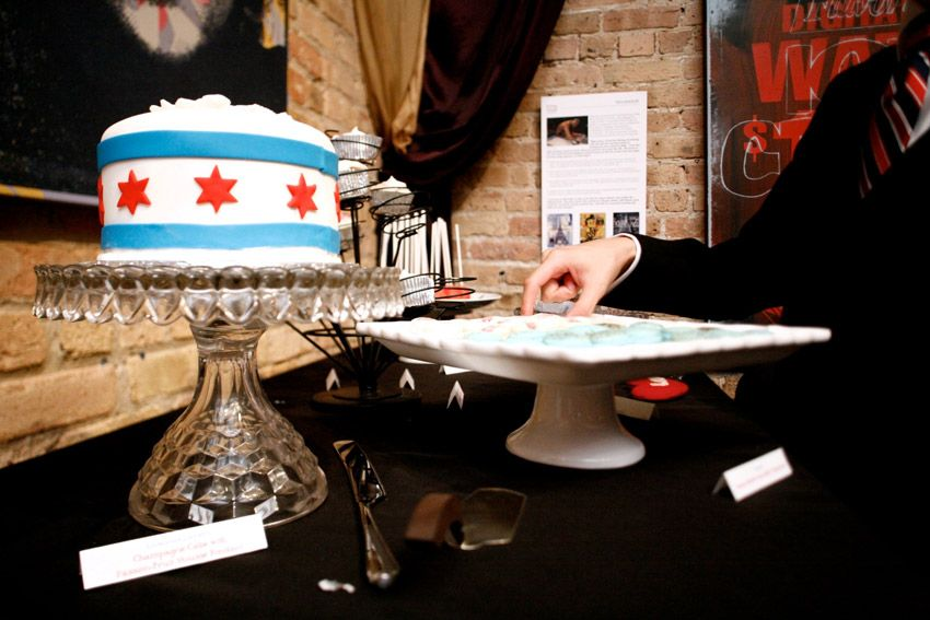 Chicago Wedding Cake Photography By Spark Tumble Chicago