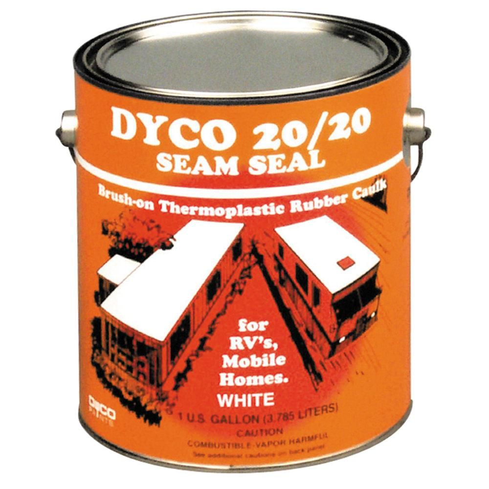 Dyco 1 Gal. 20/20 Seam Seal in White in 2020 Single ply