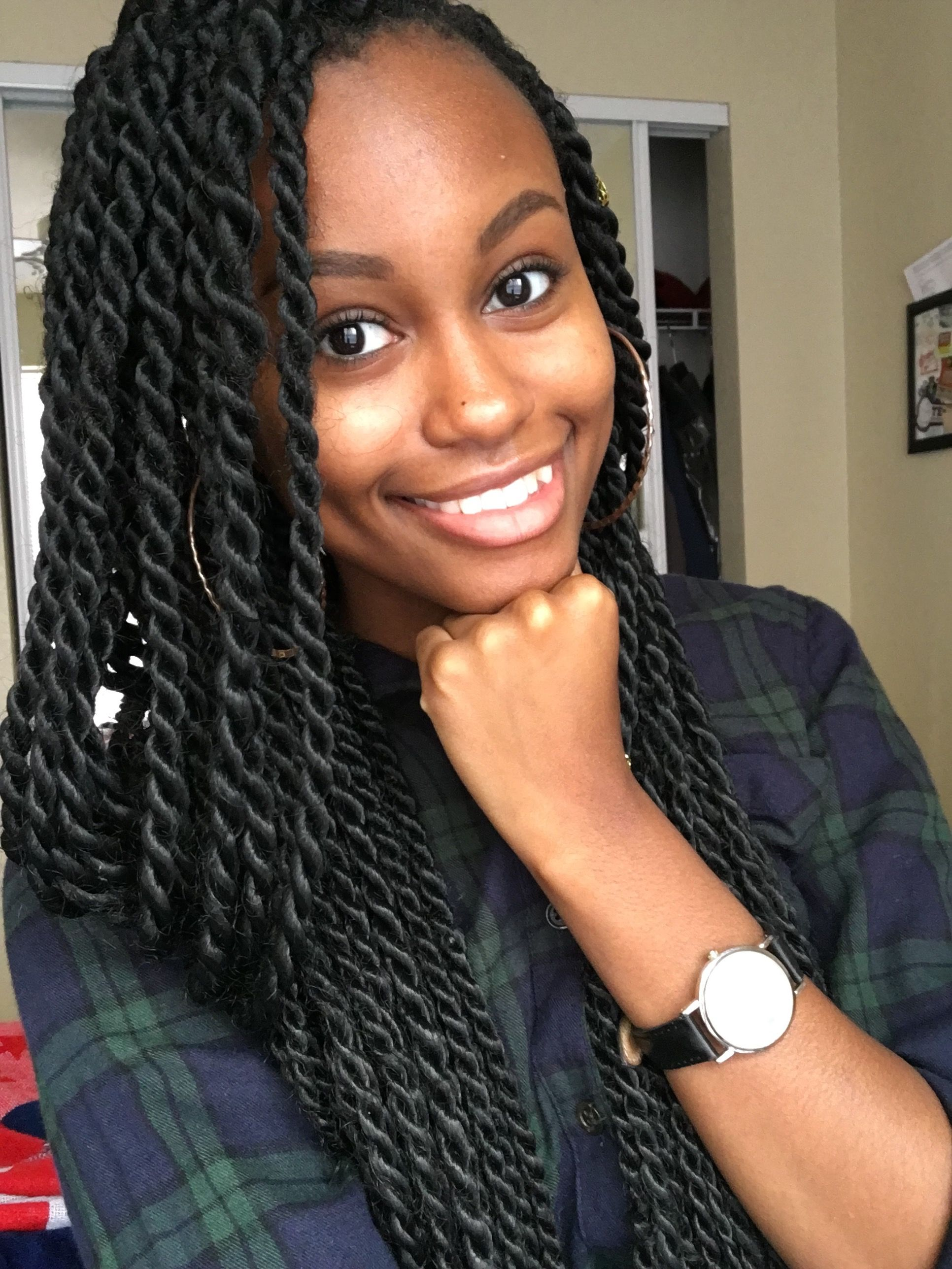 Natural Hairstyles Protective Hairstyles Medium Sized Long