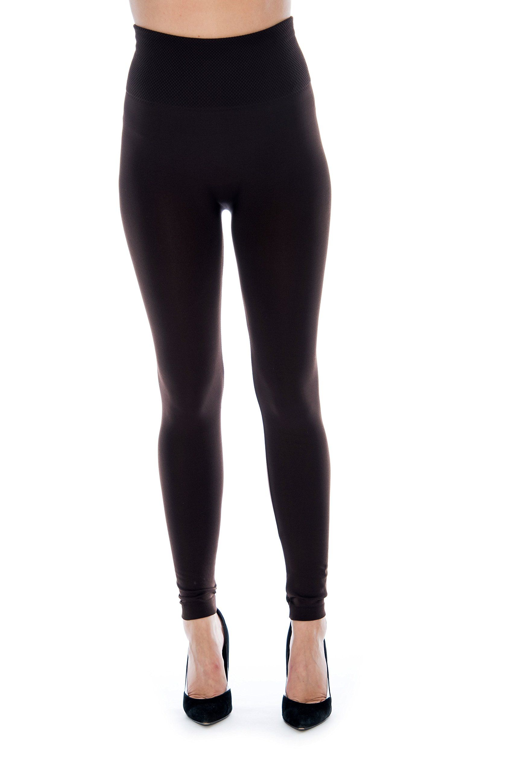 cff8b075e9f906 Unique Styles Fleece Lined Leggings for Women One Size and Plus Size Packs One  Size Fits Most 4PK: High Waist: Black Brown Navy Charcoal >>> For more ...