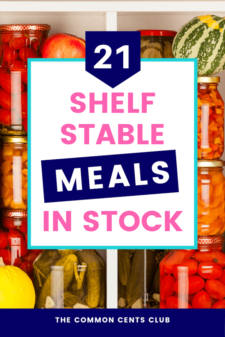 Where to Buy Shelf Stable Meals Game day food, Meals