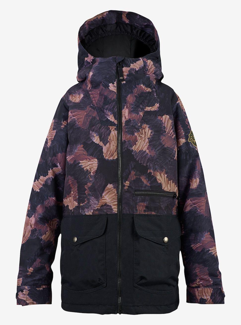 156b49f5a Burton Boys' Ace Jacket shown in Marker Cam / True Black | KIDS ...