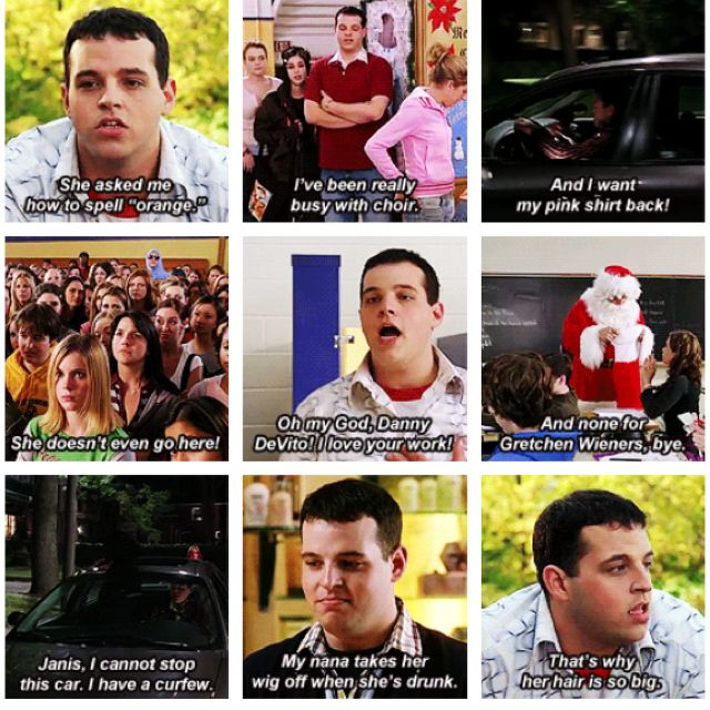 Quotes About Mean Women: Damian In Mean Girls. Hilarious.