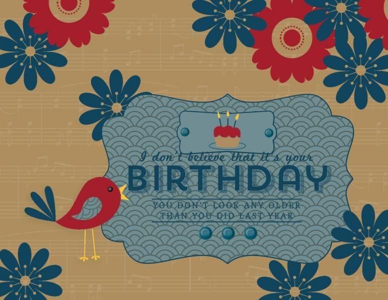QFTD207 Digital Birthday