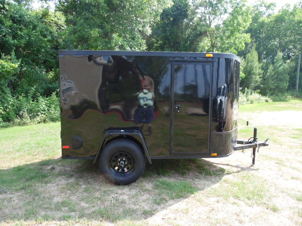 Enclosed 5 X 8 Cargo Trailer This Trailer Features New Stable Deck Walls And Flooring 6 Interior Height Al With Images Cargo Trailers Trailer Enclosed Cargo Trailers
