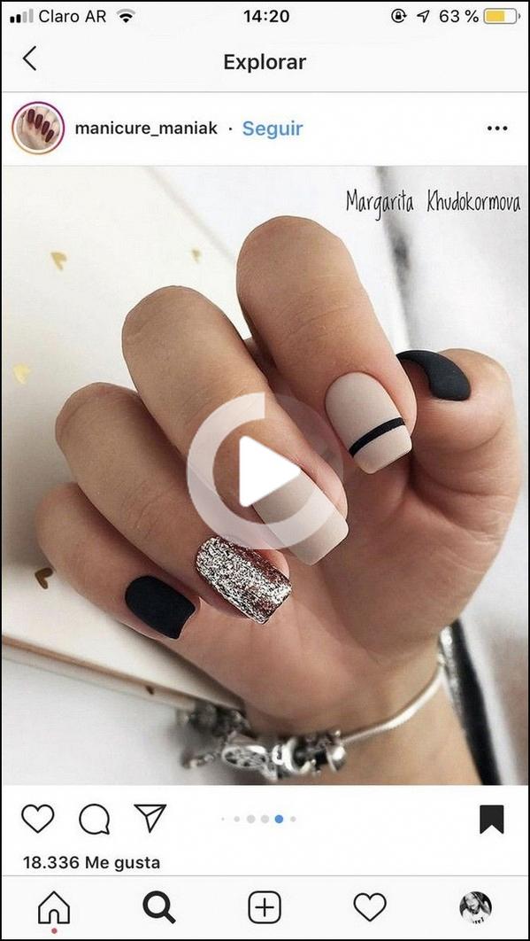 69 naturale estate unghie e design per unghie corte quadrati si deve provare 60 Elroy