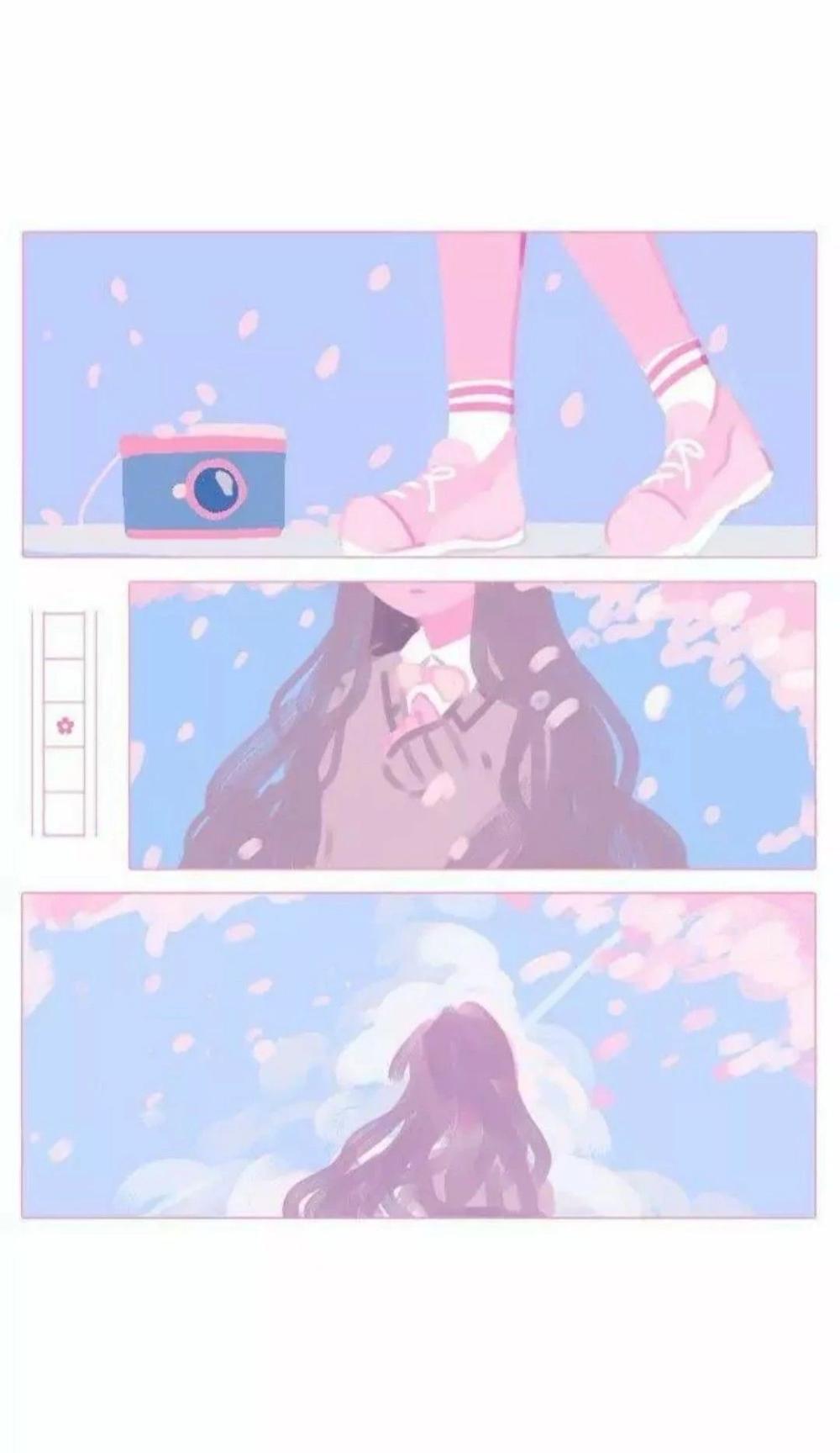 Iphone Soft Aesthetic Iphone Aesthetic Wallpapers Anime In 2020 Aesthetic Anime Anime Wallpaper Cute Art