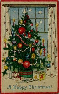 Christmas card from 1922