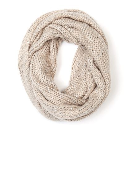 ea09f7e577c A|Wear Peach Bobble Knit Snood (19 BAM) ❤ liked on Polyvore featuring  accessories, scarves, peach and snood scarves | My Polyvore Finds | Snood  scarf, ...