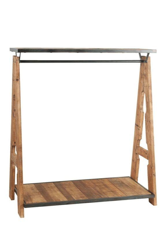 Kleiderständer selber bauen - Ersatz für den Kleiderschrank | Kunst ...
