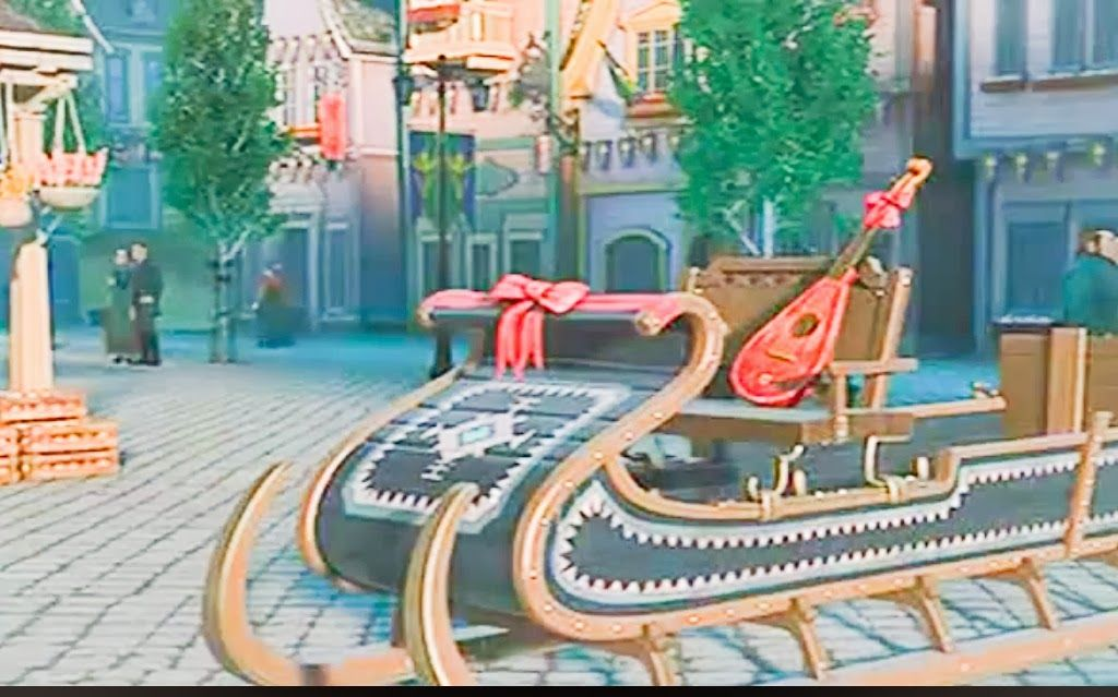 sled from frozen - Google Search