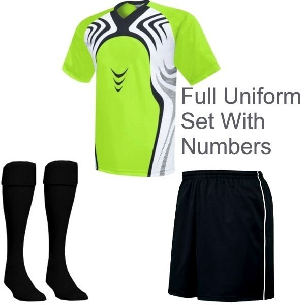 49056ce9c96 High Five Flash Soccer Uniform Package - model H5FLASH