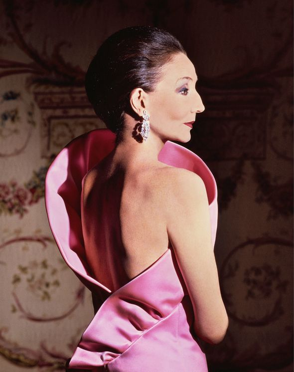 Jacqueline de Ribes in her own design, 1983