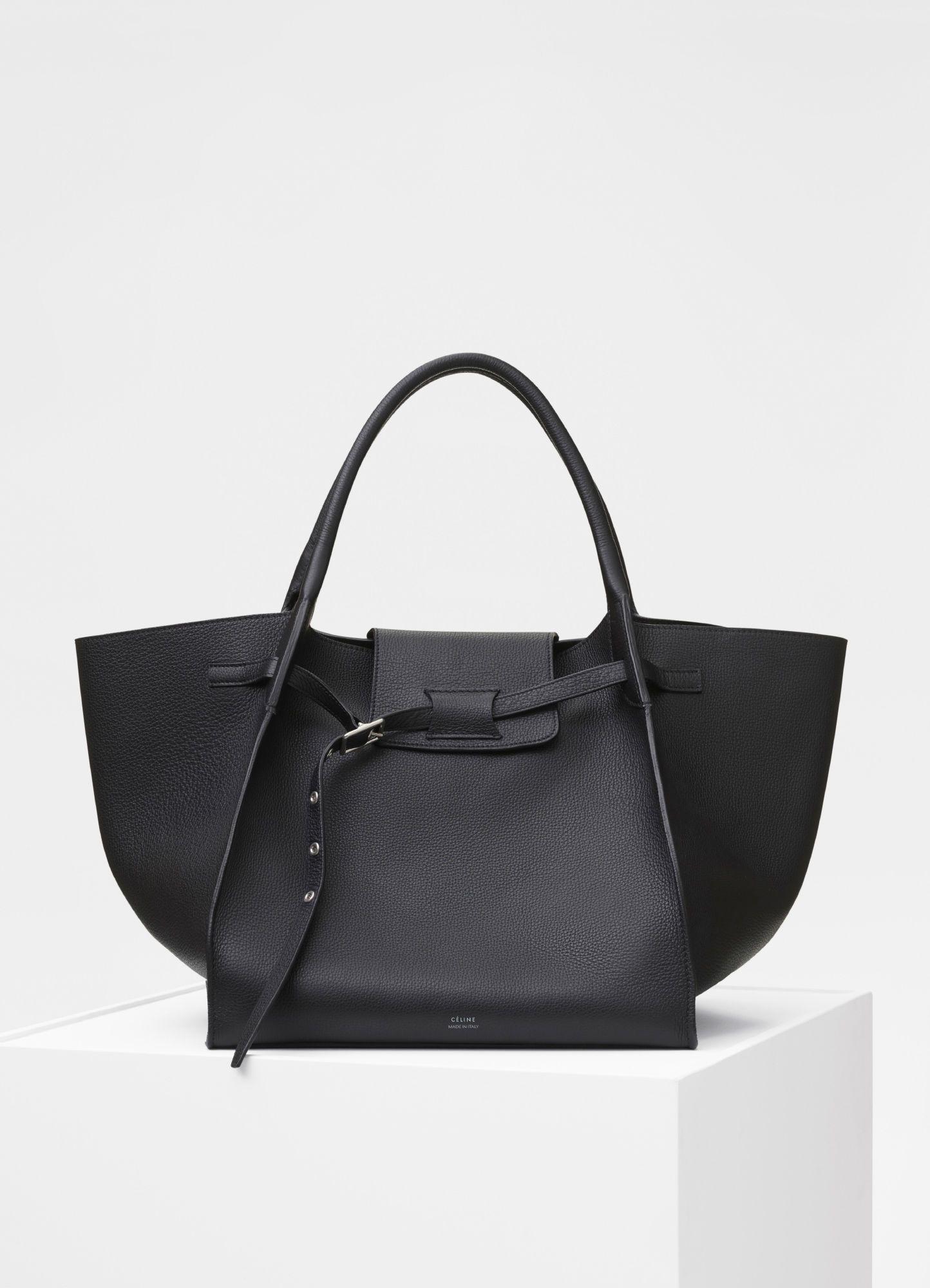 84ada42382 Medium Big bag in supple grained calfskin - Handbags