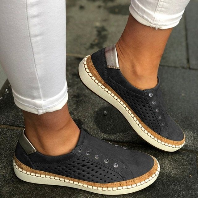Breathable women vulcanized shoes summer women casual shoes hollow out women sneakers lightweight flats torridity is part of Comfortable loafers women, Casual shoes women, Loafers for women, Dress shoes men, Comfortable loafers, Casual flat shoes - Breathable Women Vulcanized Shoes Summer Women Casual Shoes Hollow Out Women Sneakers Lightweight Flats Torridity