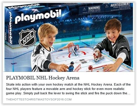 Skate Into Action With Your Own Hockey Match At The Nhl Hockey Arena See Our Review And Video At Http Thehottestchristmastoysof Hockey Arena Nhl Nhl Hockey