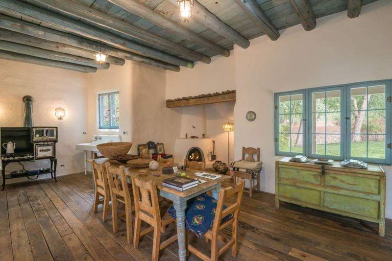 Rustic Adobe Home Asks 895k In Santa Fe Adobe House Southwestern Home Home